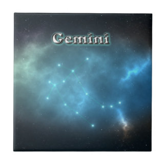 Gemini constellation tile