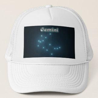 Gemini constellation trucker hat