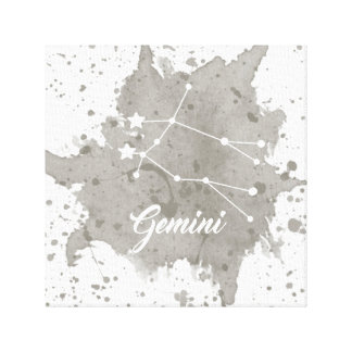 Gemini Gray Wall Art