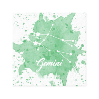 Gemini Green Wall Art
