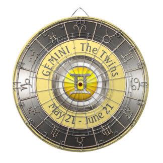 Gemini Horoscope Symbol Dartboard