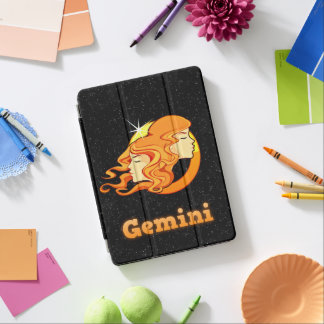 Gemini illustration iPad air cover