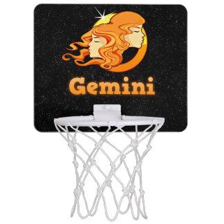 Gemini illustration mini basketball hoop