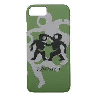 Gemini in black iPhone 7 case