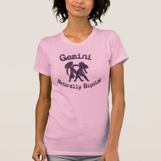 Gemini:  Naturally Bipolar T-Shirt