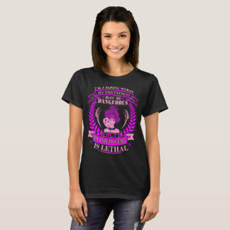 Gemini Prettiness Dangerous Intelligence Lethal T-Shirt