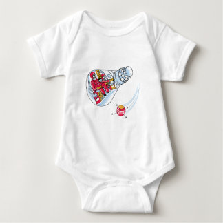 Gemini Space Capsule Baby Bodysuit