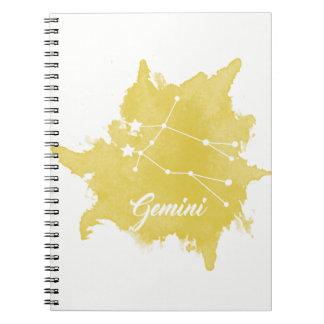 Gemini Star Sign Notebook
