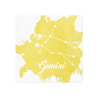 Gemini Star Sign Wall Art