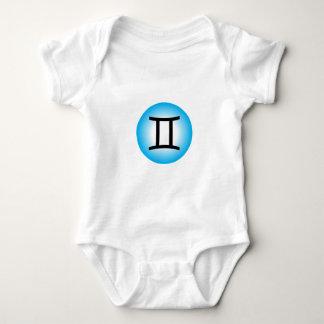 GEMINI SYMBOL BABY BODYSUIT