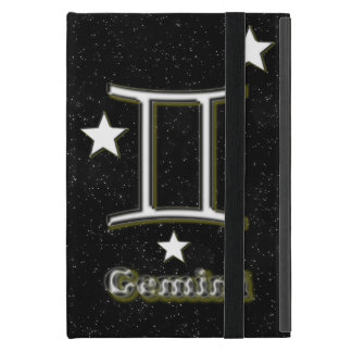 Gemini symbol case for iPad mini