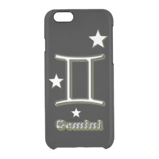Gemini symbol clear iPhone 6/6S case