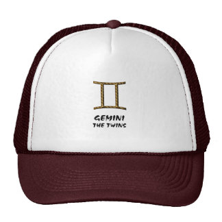 Gemini the twins hat
