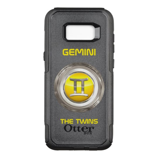 Gemini - The Twins Horoscope Sign OtterBox Commuter Samsung Galaxy S8+ Case