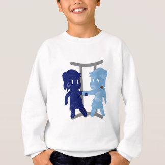 gemini twins DAY AND NIGHT Sweatshirt