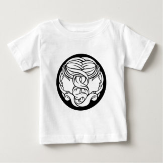 Gemini Twins Zodiac Astrology Sign Baby T-Shirt