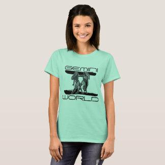 Gemini World Zodiac T-Shirt