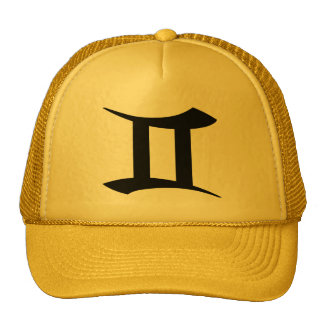 Gemini Yellow Gold Hat