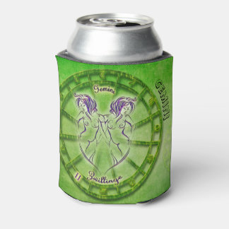 Gemini Zodiac Astrology design Can Cooler