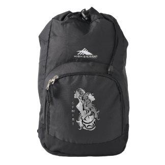 Gemini Zodiac Design Backpack