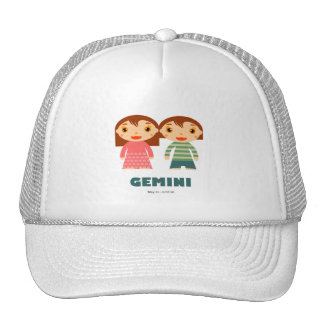 Gemini Zodiac for kids Trucker Hat
