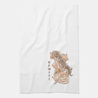 Gemini Zodiac Kitchen Towel