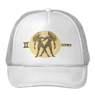 Gemini Zodiac Pearl Designer Modern Trucker Hat