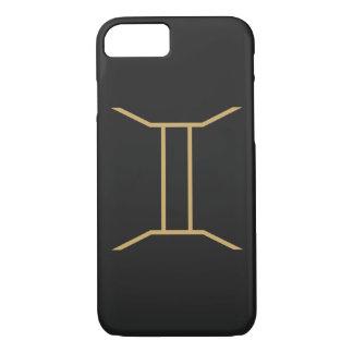 Gemini Zodiac Sign Basic Case-Mate iPhone Case