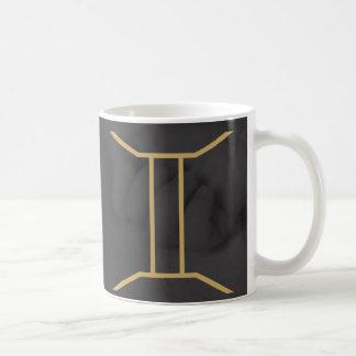 Gemini Zodiac Sign | Custom Background Coffee Mug