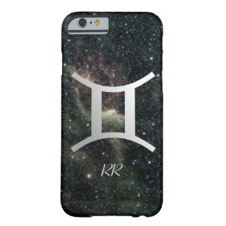 Gemini Zodiac Star Sign on Universe Barely There iPhone 6 Case