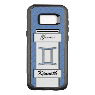 Gemini Zodiac Symbol Element by Kenneth Yoncich OtterBox Commuter Samsung Galaxy S8+ Case