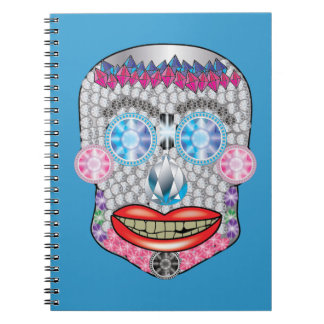 Gemma Candy Skull Notebook