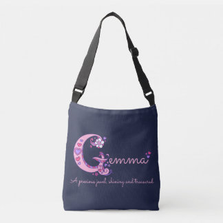 Gemma name and meaning G monogram bag