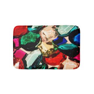Gems Jewels Fancy Bling Jewelry Diamonds Crystals Bath Mat