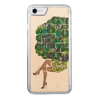 Gems of Broccoli Carved iPhone 8/7 Case