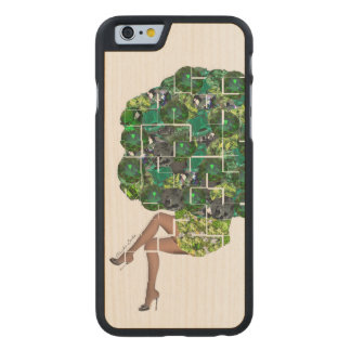 Gems of Broccoli Carved® Maple iPhone 6 Case