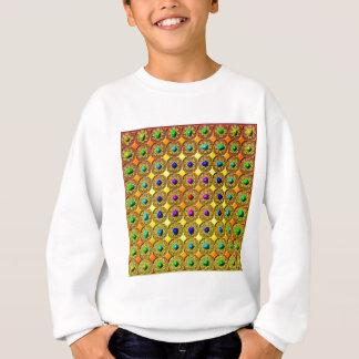 Gemstone background sweatshirt