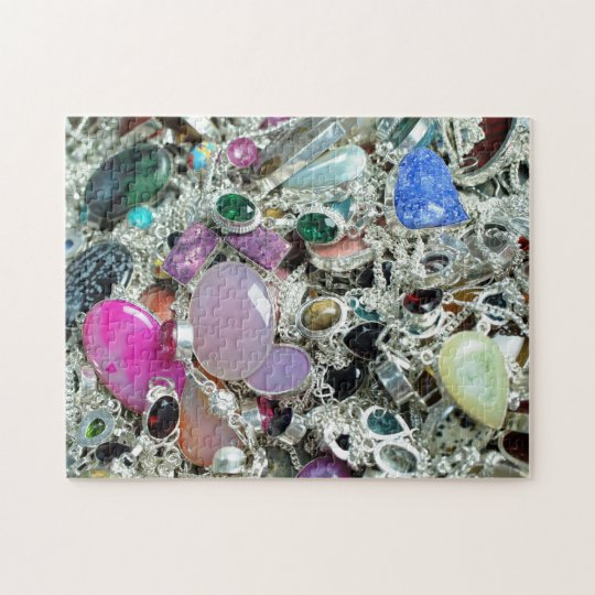 Gemstone Baubles Jigsaw Puzzle