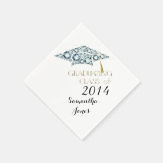 Gemstone Class of 2014 Graduate Party Napkins Paper Napkins