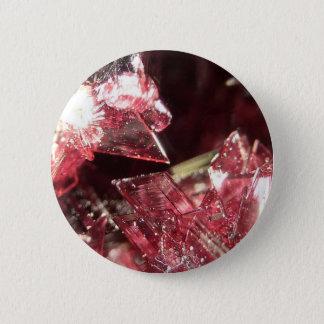 Gemstone Crystal art 2 Inch Round Button
