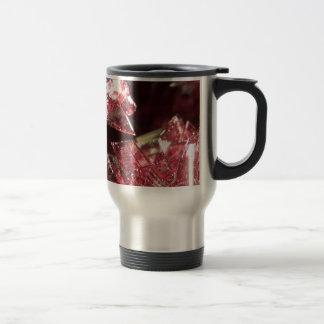 Gemstone Crystal art Travel Mug