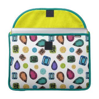 Gemstones Macbook Pro Sleeve