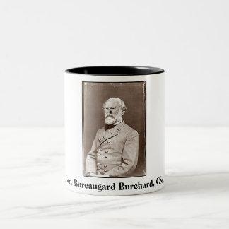 Gen. Bureaugard Burchard, CSA, Gen. Bureaugard ... Two-Tone Coffee Mug
