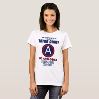 Gen. George Patton Third Army Women's T-Shirts