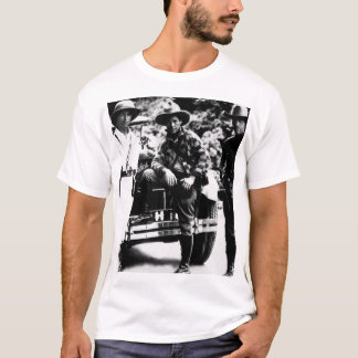 Gen. Sandino (center) and Staff enroute _War Image T-Shirt
