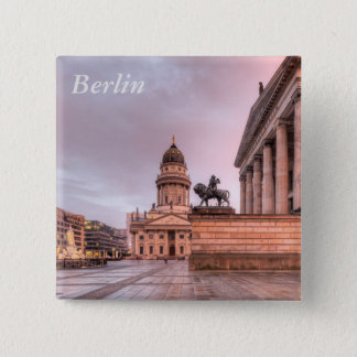 Gendarmenmarkt Berlin 2 Inch Square Button