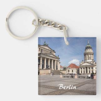 Gendarmenmarkt, Berlin Single-Sided Square Acrylic Keychain