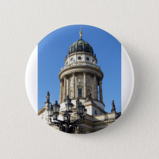 Gendarmenmarkt, French Church (Französischer Dom) 2 Inch Round Button