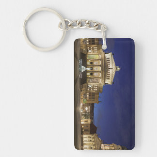 Gendarmenmarkt panorama Single-Sided rectangular acrylic keychain