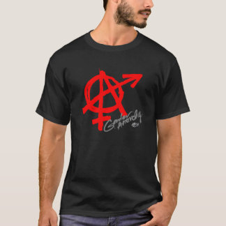 Gender Anarchy (front print) - Red letter classic T-Shirt